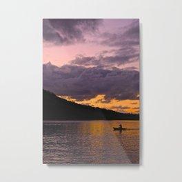 Lake Nicaragua Metal Print