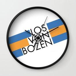 Gries Ist Nicht Bozen/Official - Los Von Bozen Wall Clock