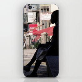 Thinker Bench iPhone Skin