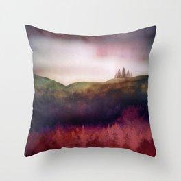 Scarlet Light Throw Pillow