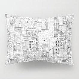 City Doodle (day) Pillow Sham