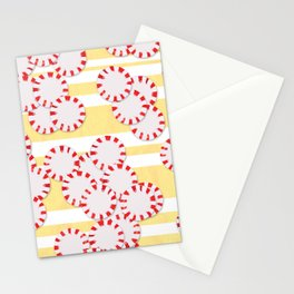 moves in red and yellow parts Stationery Cards