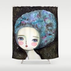 The Muse Of The Universe Shower Curtain