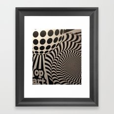 Optical Illusion for IPhone  Framed Art Print