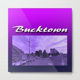 Bucktown Metal Print