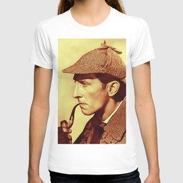 Peter Cushing as Sherlock Holmes T-shirt
