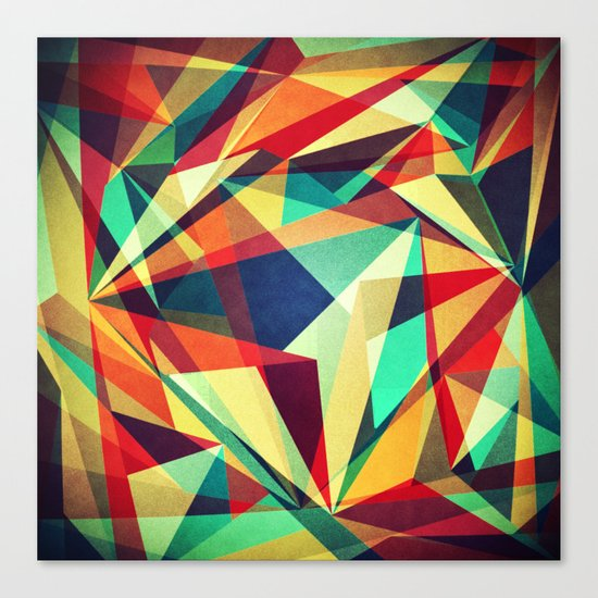 Broken Rainbow Canvas Print