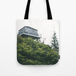Oregon Fire Lookout Tote Bag