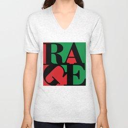 Renegades Red & Green Unisex V-Neck
