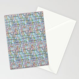 Tube Print Stationery Cards