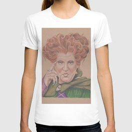 Winifred Sanderson, hocus pocus, Coloured pencil portrait T-shirt