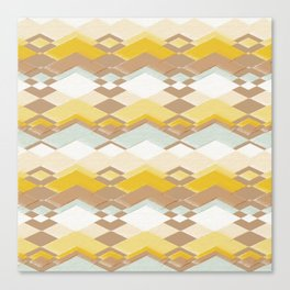 RETRO DESERT Canvas Print