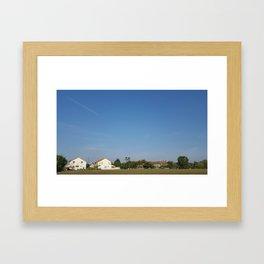 Desa Putra - A Princely Countryside Framed Art Print