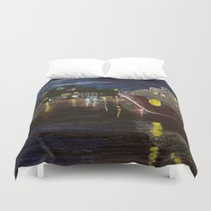 Moonlit Carenage Duvet Cover