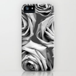 BW Roses iPhone Case