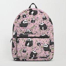 Pretty Panda Pattern Backpack
