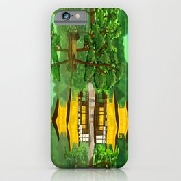 The Golden Temple iPhone Case