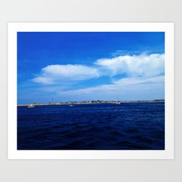 Another View from Newburyport, MA Art Print