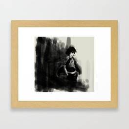 Nico di Angelo Framed Art Print