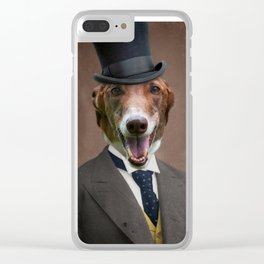 Happy Benny Clear iPhone Case