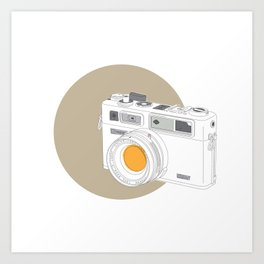 Yashica Electro 35 GSN Camera Art Print