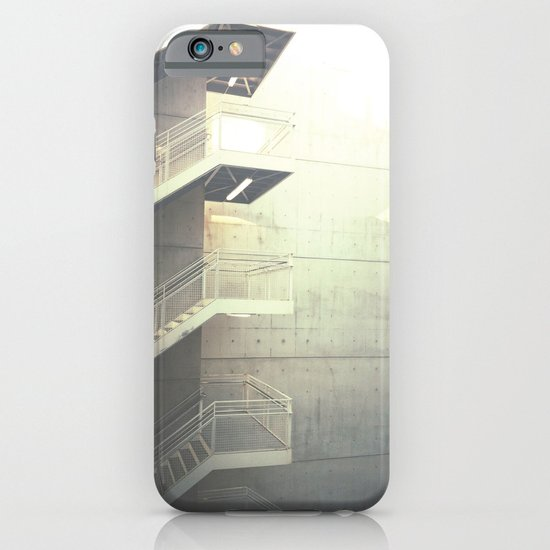 Industrial Stairs 02 iPhone & iPod Case