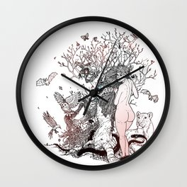 Lilith tastes. Wall Clock
