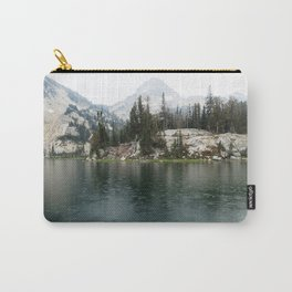 Ice Lake.Alpine Lake.Rain.Mountain.Oregon.Wallowas. Carry-All Pouch