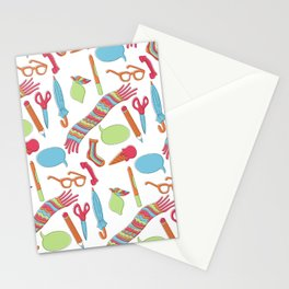 Quirky Pattern Stationery Cards