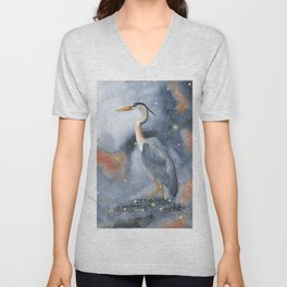 Wading in the Wonderland Unisex V-Neck