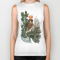 rose gold Biker Tanks featuring Rose Gold by Awreon