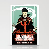 doctor Stationery Cards featuring Doctor by Shop 5
