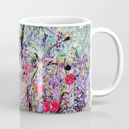 The Lavender Patch Panel 1 Coffee Mug