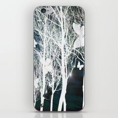 Arbres aux papillons iPhone & iPod Skin