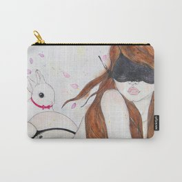 Take Me to Your Wonderland Carry-All Pouch