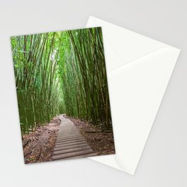 Bamboo Forest Trail - Photoart Stationery Cards