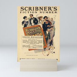 scribners fiction number. 1906  Affiche Mini Art Print