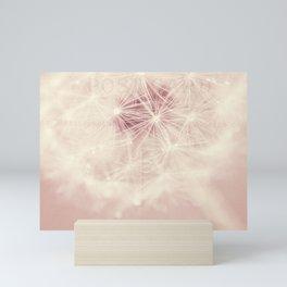 dandelion postcard Mini Art Print