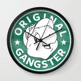 Franklin The Turtle - Starbucks Design Wall Clock