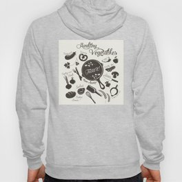 Health Vegetables Hoody