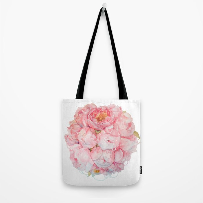 Tender bouquet Tote Bag