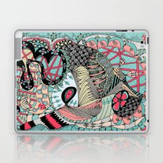 The eye looking flower Laptop & iPad Skin