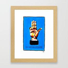 El Secuestrado Framed Art Print