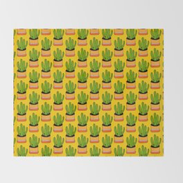 Cactus 04 Throw Blanket