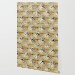 Paper Parasols (pink blush) Wallpaper