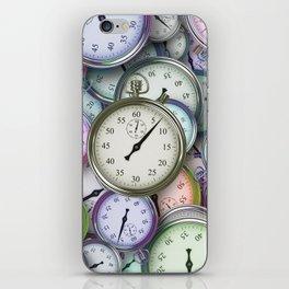 Timepieces Art iPhone Skin