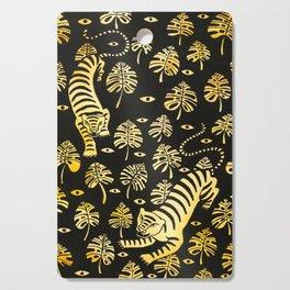 Tiger jungle animal pattern Cutting Board