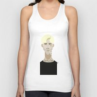 ryan gosling Tank Tops featuring Ryan Gosling (The place beyond the pines) by Bady Church