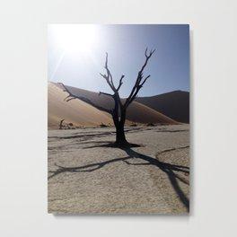 sossusvlei tree Metal Print
