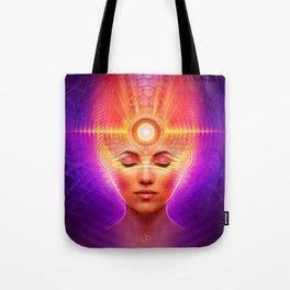 Mind Molecular Congruence Tote Bag
